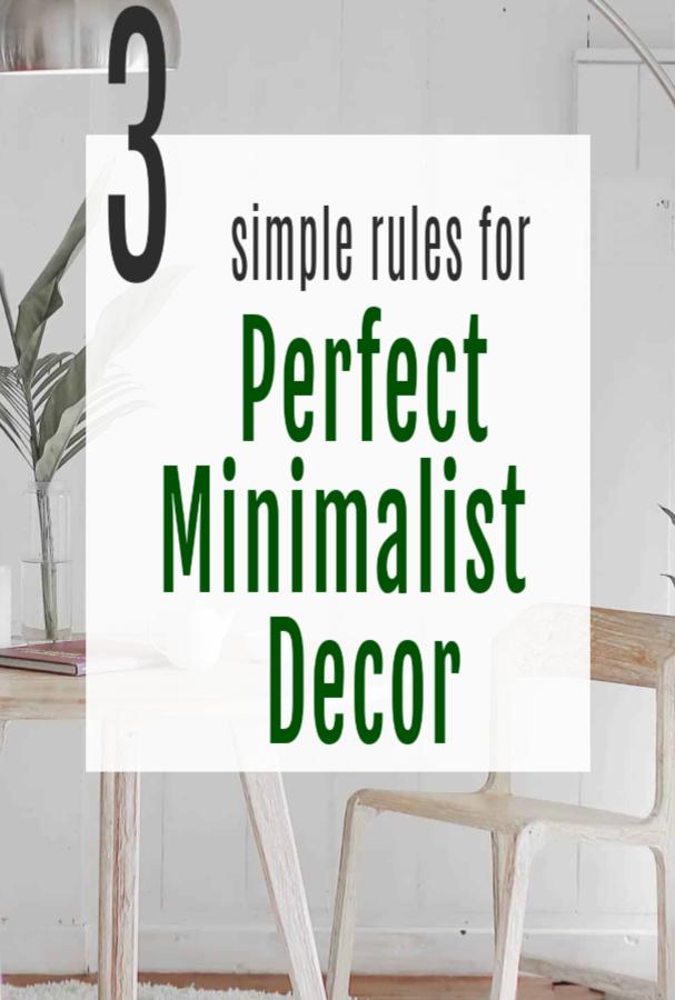 aspiring minimalist