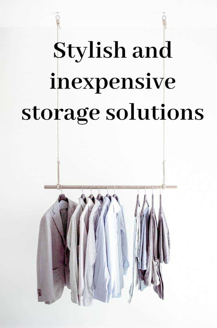 Stylish And Inexpensive Storage Solutions A Host Of