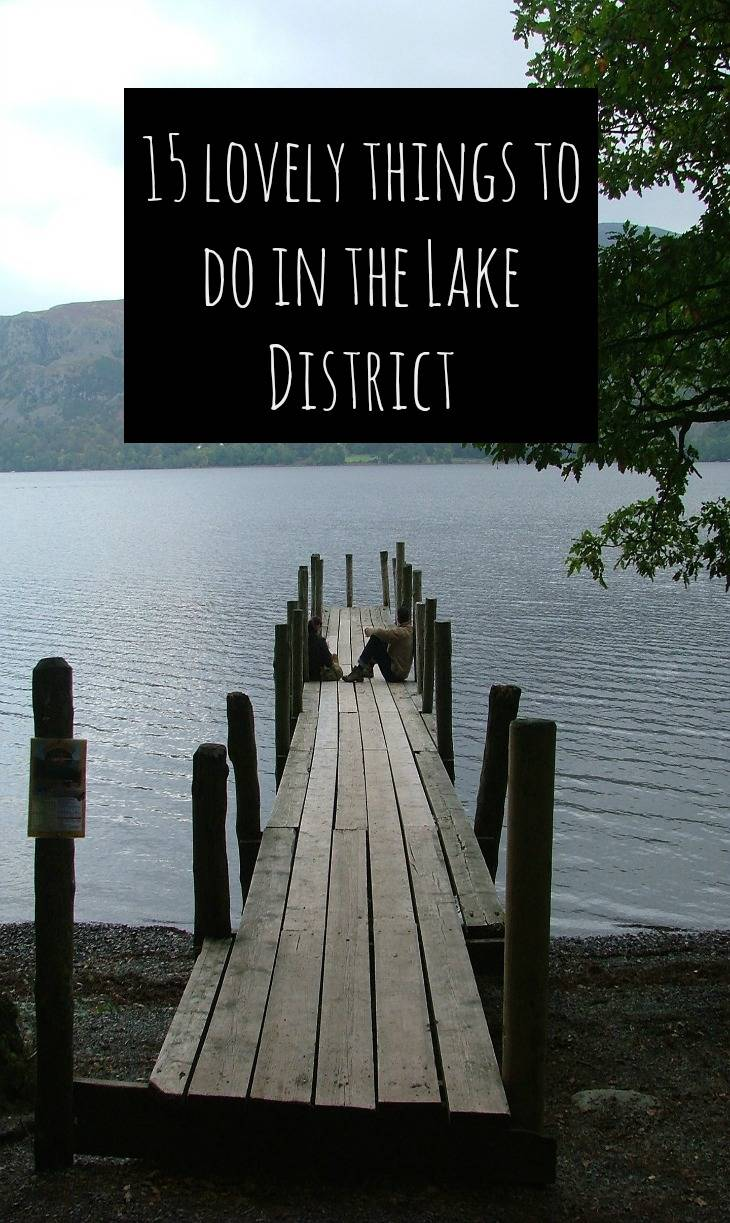lovely things to do in the lake district
