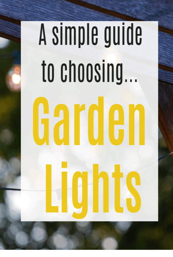 How to Choose the Right Garden Lights