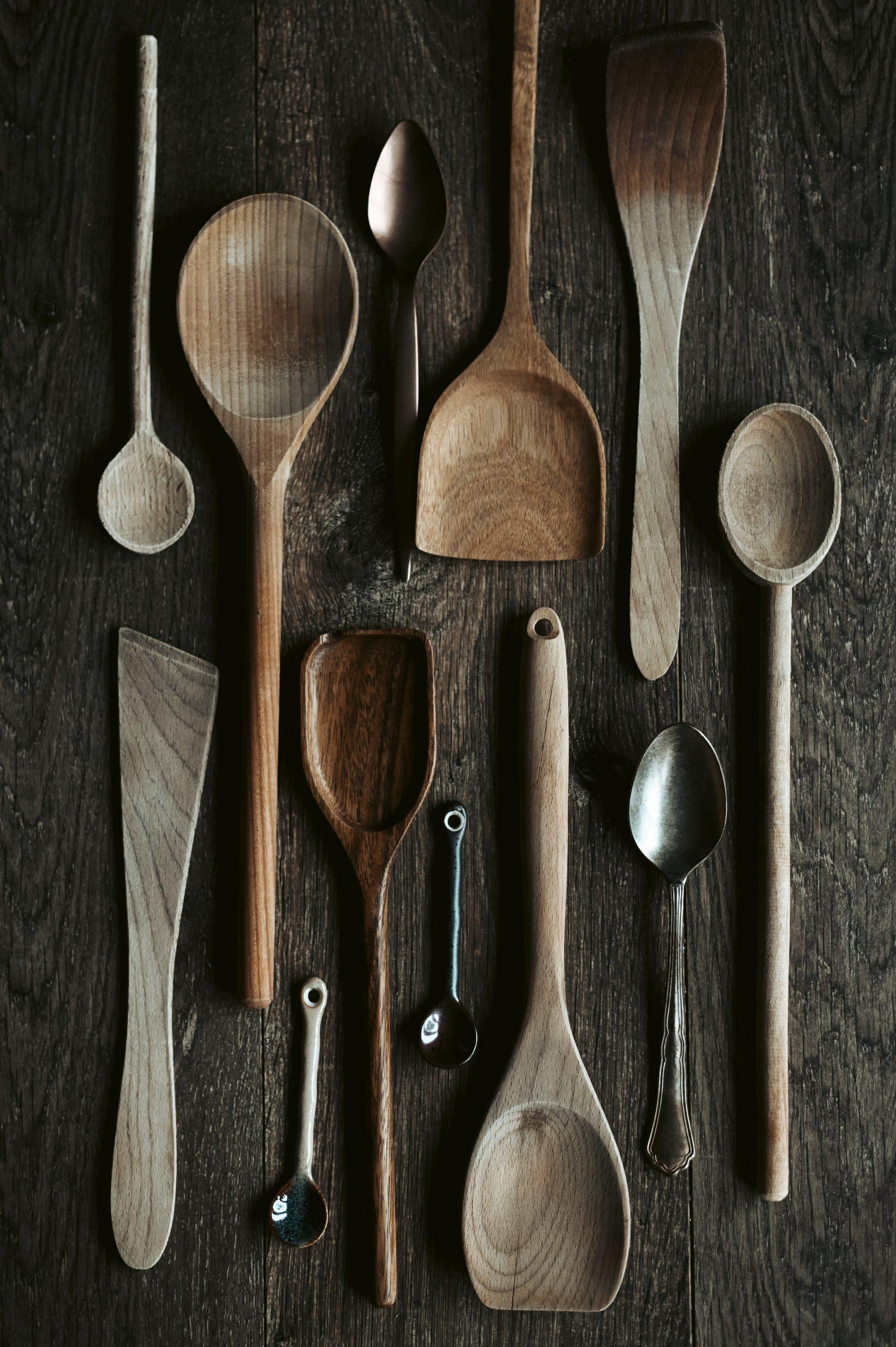 Wooden Spoon Display