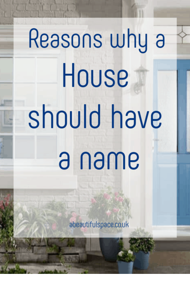 Should a house have a name?, there  are so many opinions on this but lets consider the argumenets iand if you do decide then how do you choose you house name? #housename