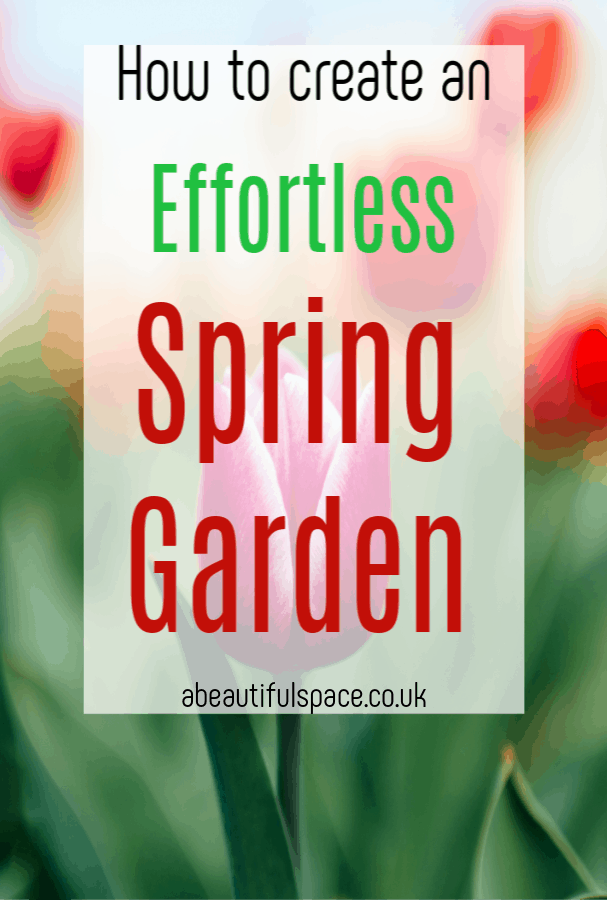 Effortless Spring Garden