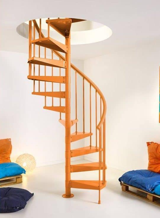 benefits of spiral staircases
