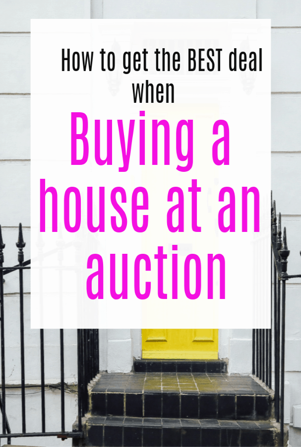 How to get an even better deal on buying a house at Auction