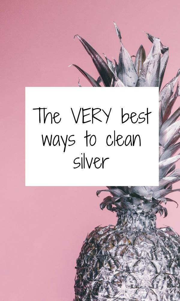 How to clean silver