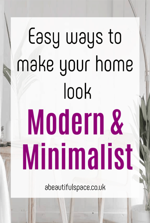 More Modern and Minimalist, if this is the aesthetic you want in your home then thee super simple tips to contemporary and minimal design and decor will help #minimlaist #minimalism #moderndecor #moderndesign