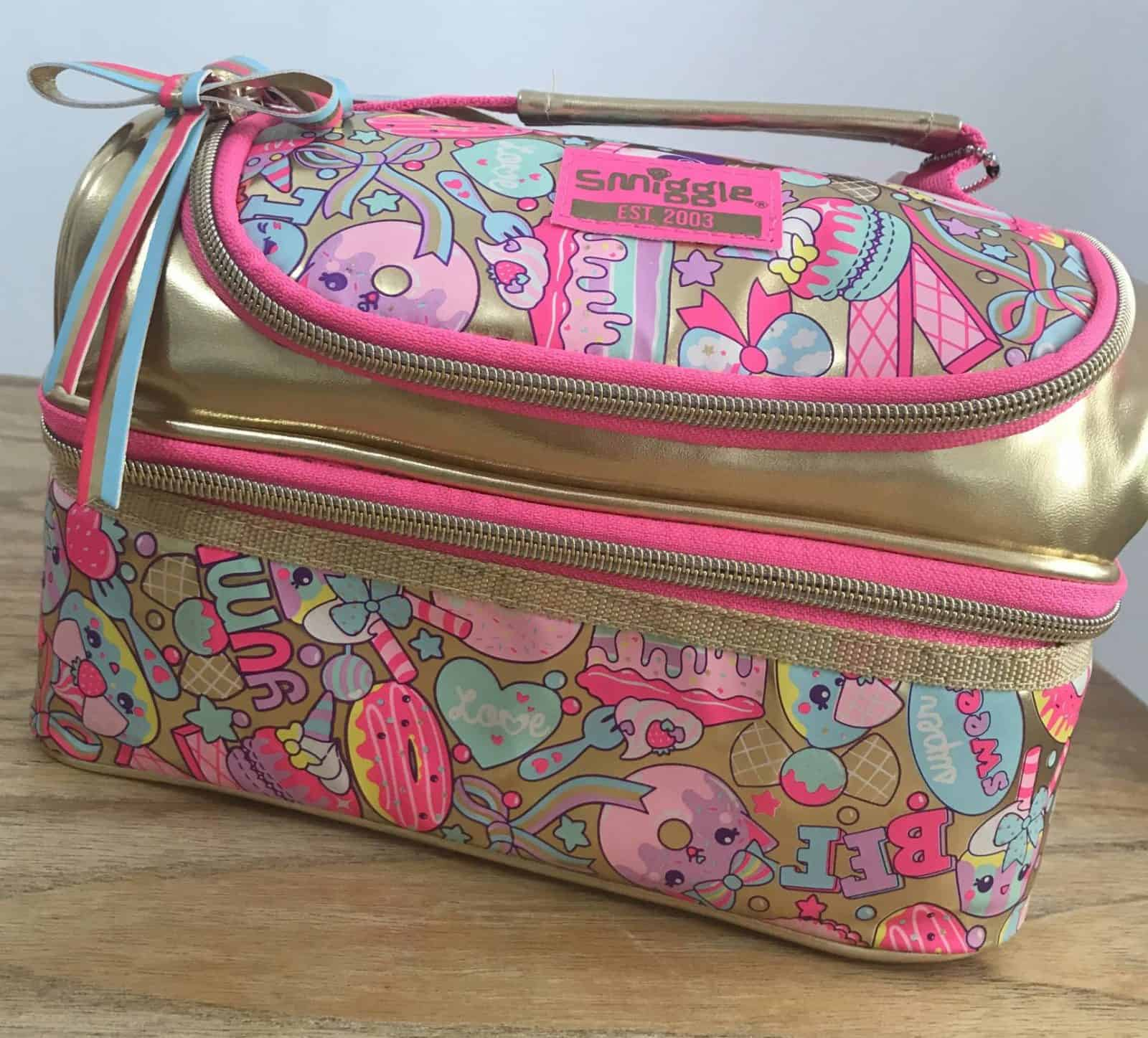 smiggle lunch bag