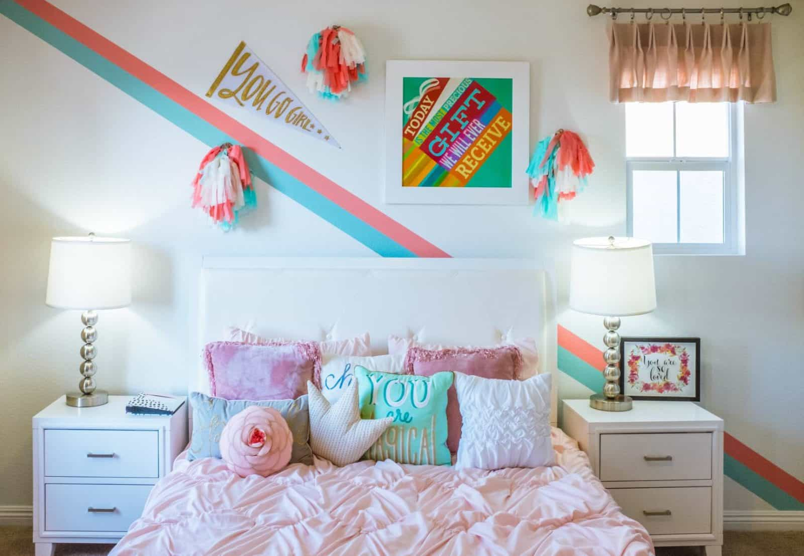 Organize Your Tween's Bedroom