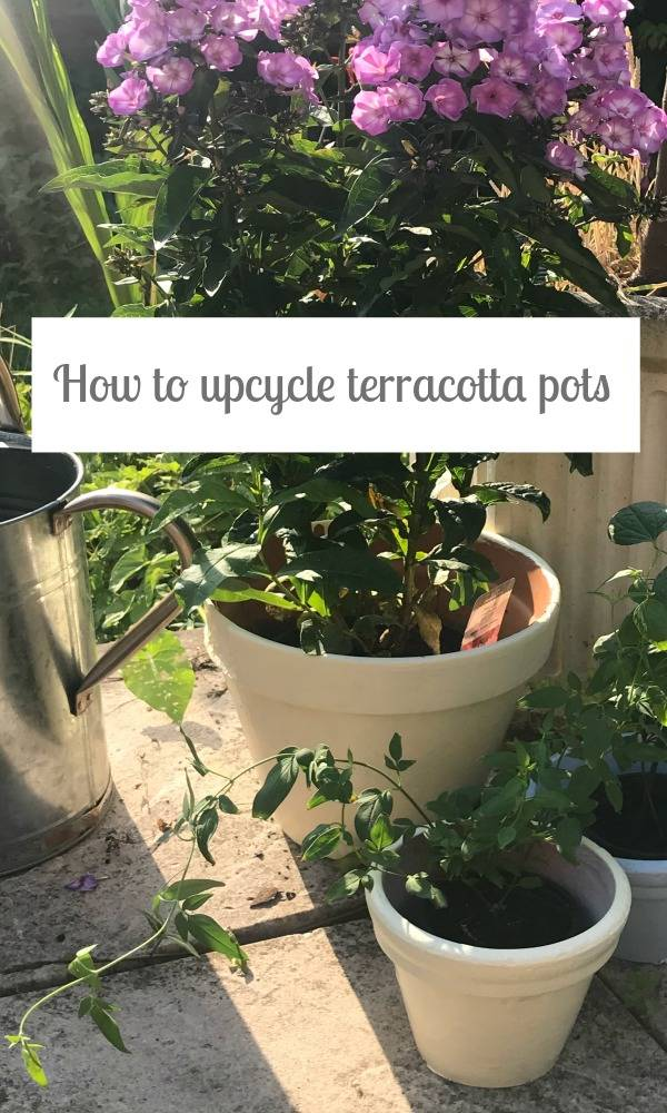 How to upcycle a terracotta pot