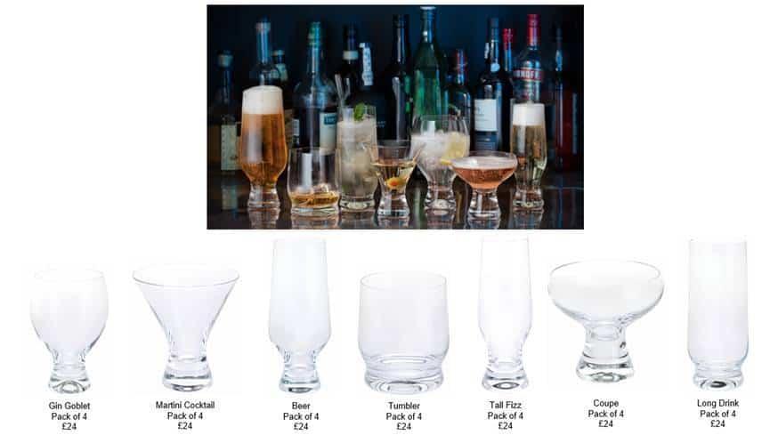 Dartington Crystal Home Bar Collection