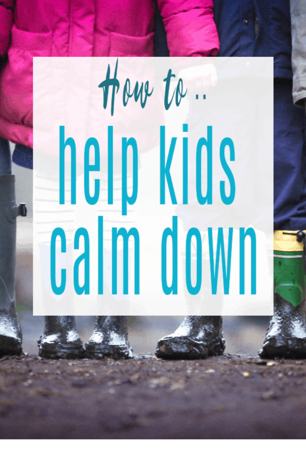 ways to help kids calm down