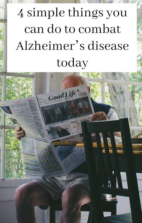 to combat Alzheimer's disease