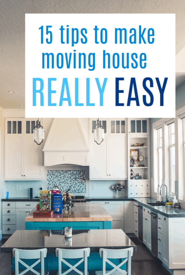 15 tips to make moving house easier