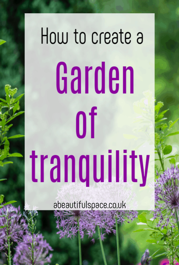 Creating A Garden Of Tranquility, how to create a tranquil and relaxing garden #tranquilgarden #calmgarden #zengarden #gardenmakeover