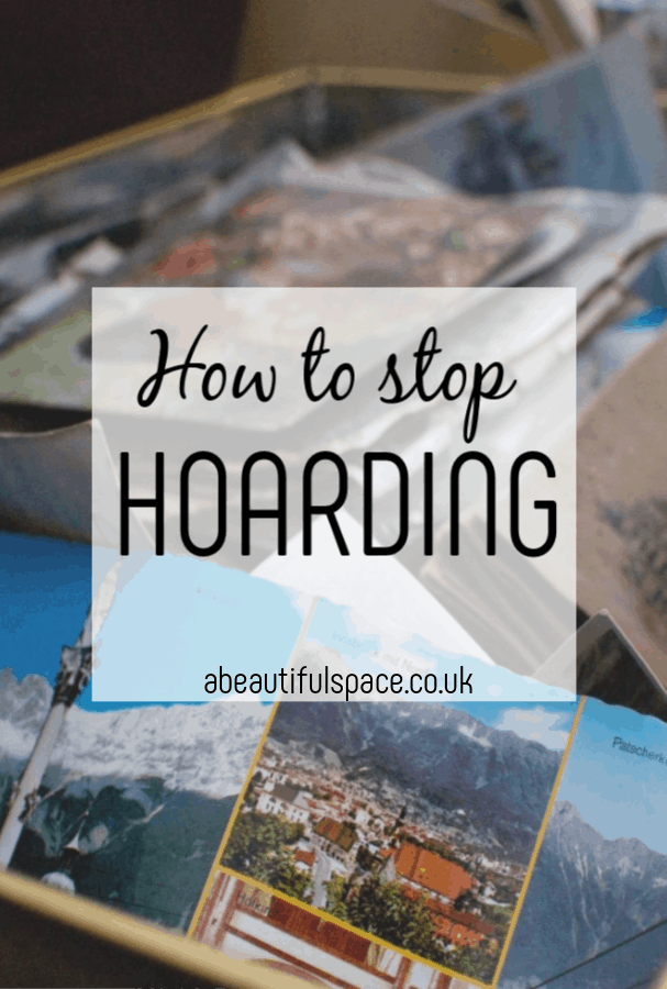 How to stop hoarding - 9 simple and effective steps to help you declutter for good #hoarding #declutter #hoard #stophoarding #ddeclutteringtips