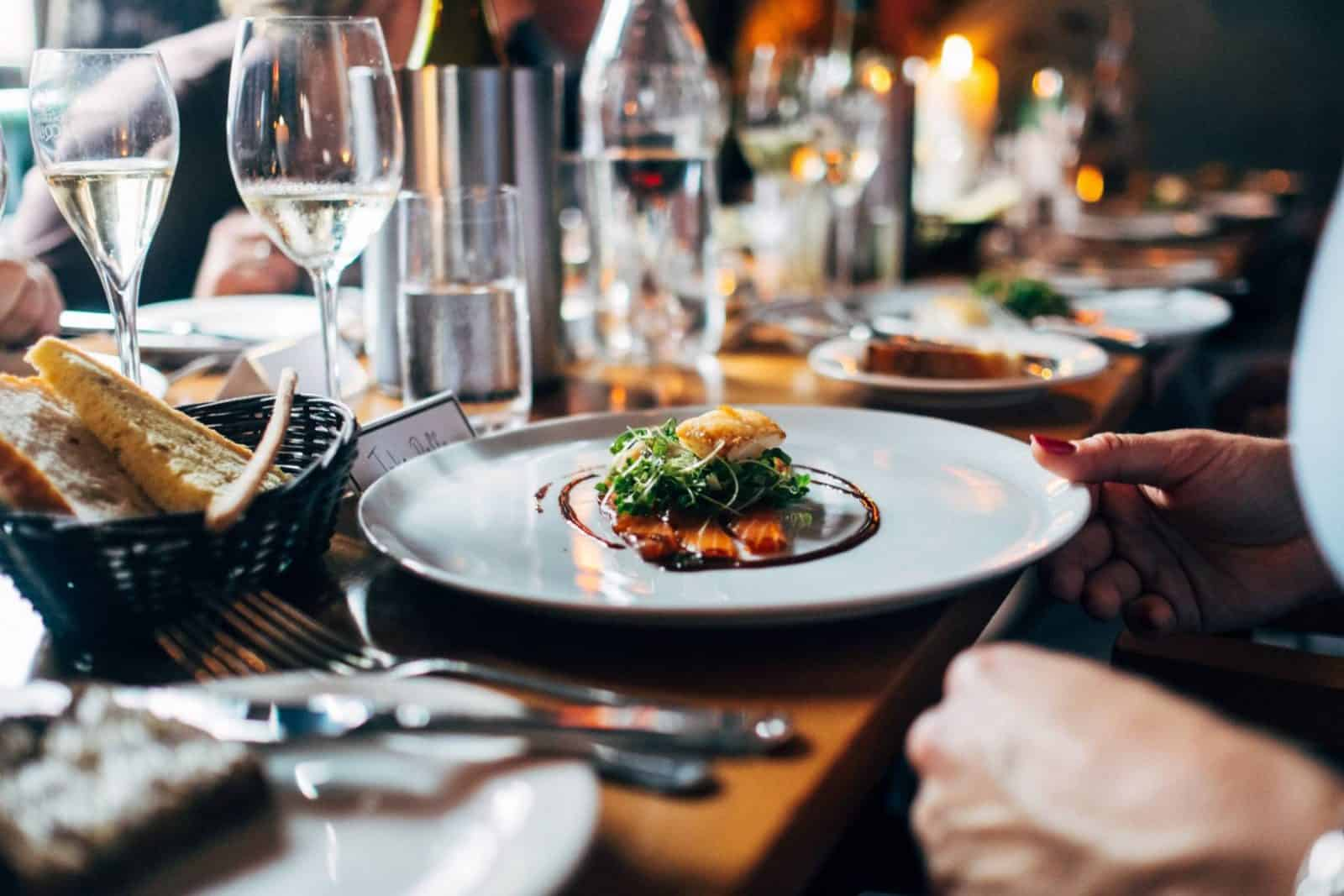 dine as normal in London