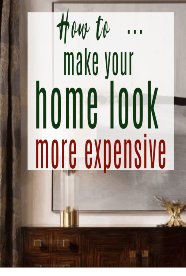 How to make your home feel luxurious