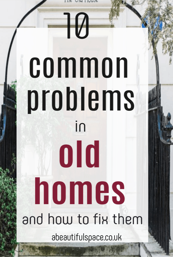 common problems in old homes,   there are common problems but here is how to fix them and oh they are just so worth it. Love the charcter of an older home #odhome #olderhome #houseproblems #homerenovations