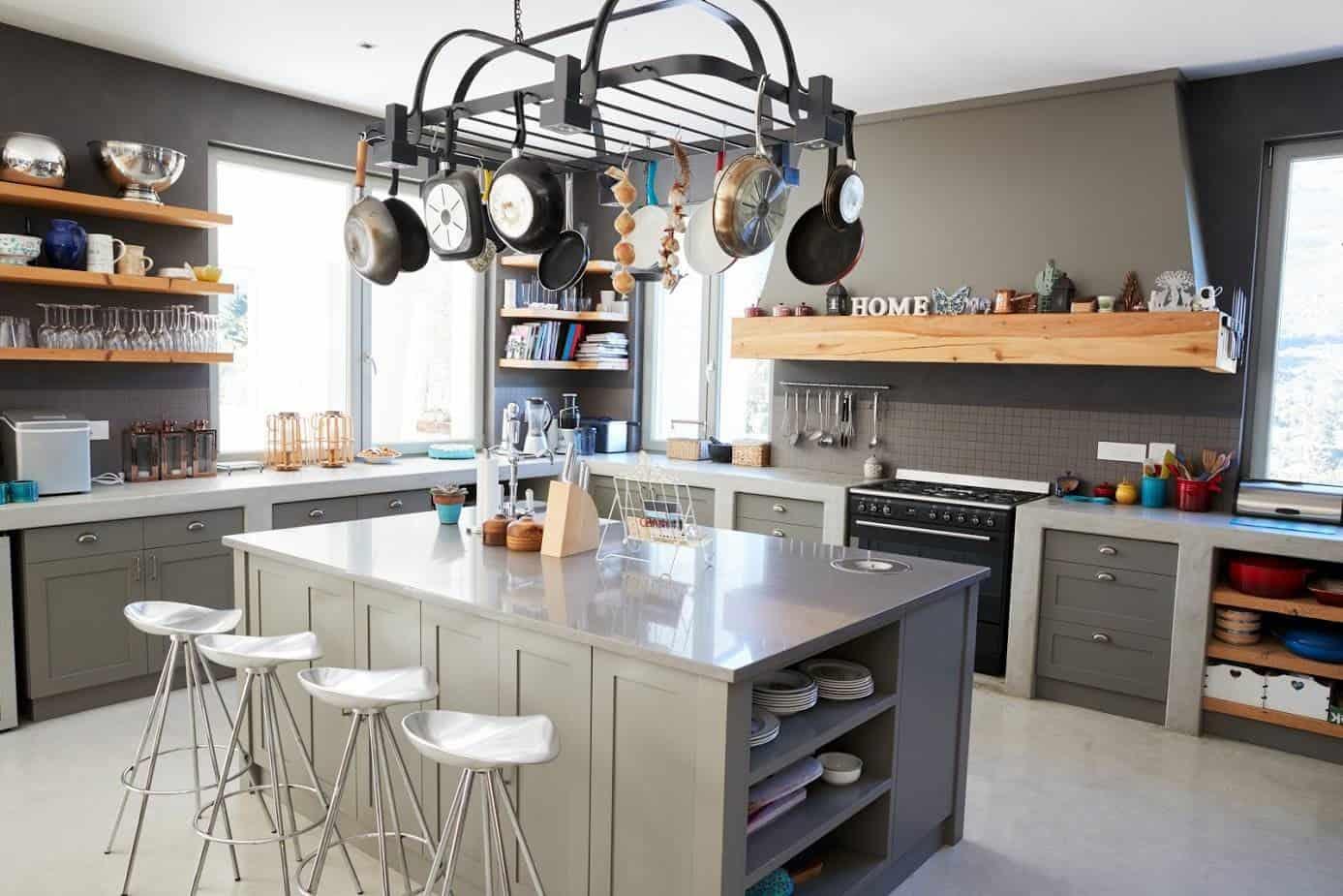 Customising a Bespoke Kitchen Island