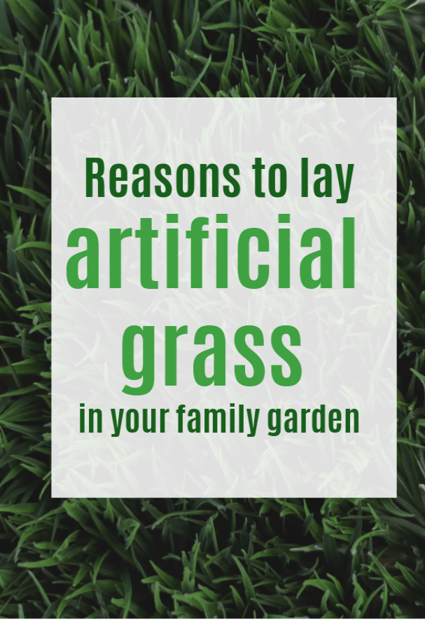 reasons to lay artificial grass