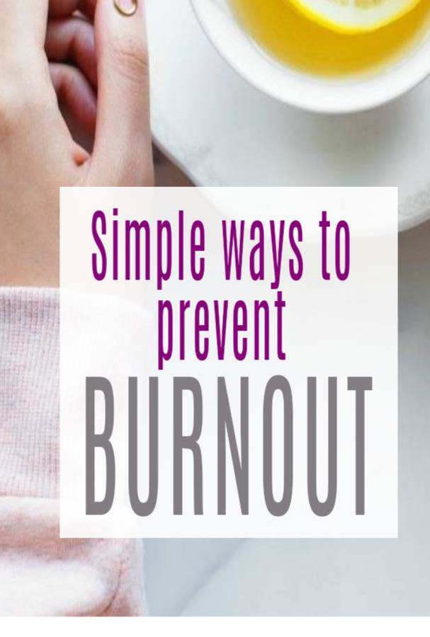 Ways to Prevent Burnout