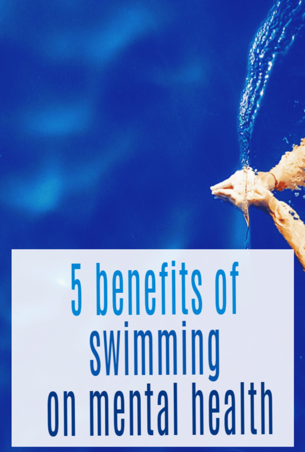 benefits of swimming on mental health