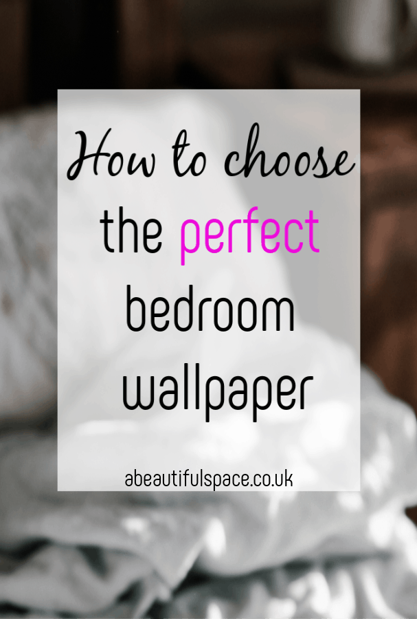 How to choose the perfect Bedroom Wallpaper, picking the right bedroom wallpaper can be tricky so here are some top tips including how to hang it! #choosingwallpaper #bedroomdecor #bedroomwallpaper