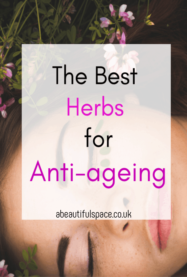 best herbs for anti-ageing, a look at the 7 best herbs to help you look youthrful and the healing properties they contain #herbs #beautyhacks #anti-ageingproducts, #herbalbeauty