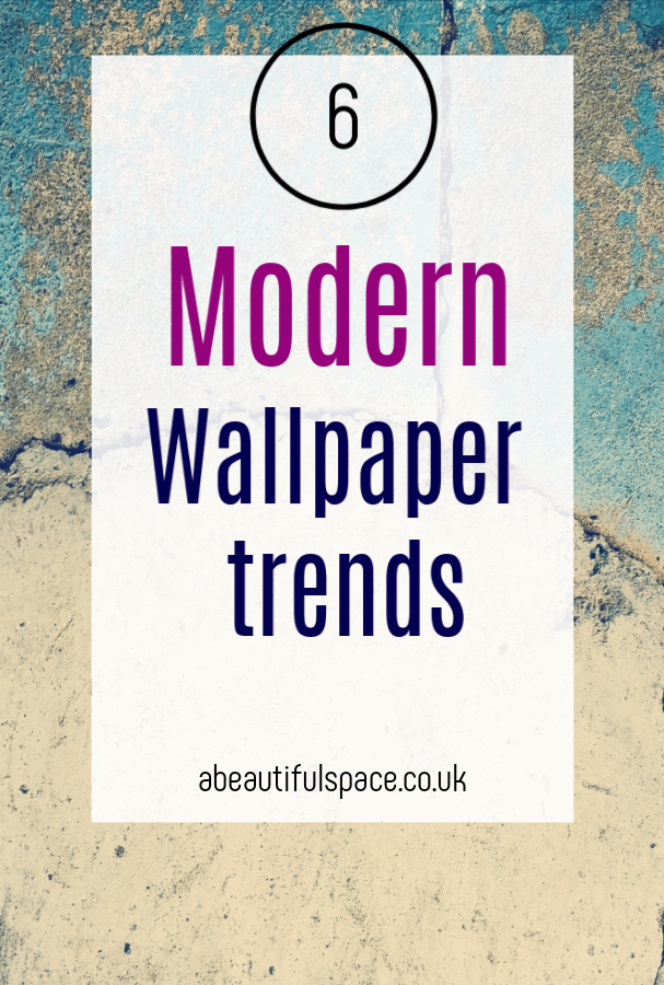 Modern wallpaper trends in 2019, - hot wallpaper trends that really add to interior design schemes #wallpaper #modernwallpaper #wallpapertrends