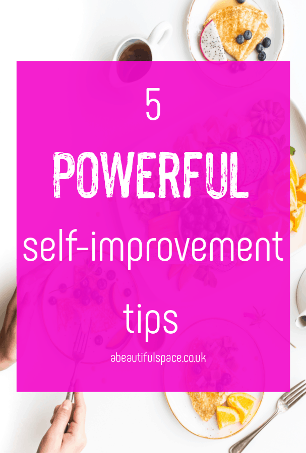 powerful self-improvement tips