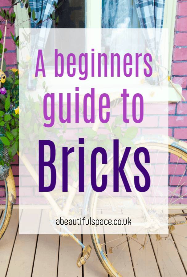 Bricks for beginners, a beginners guide to bricks their benefits, history and tthe different types of beicks available #bricks #bricklaying #DIY