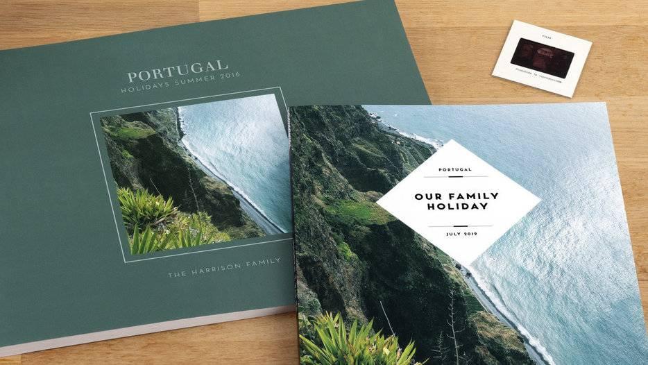 creating the perfect travel photo album