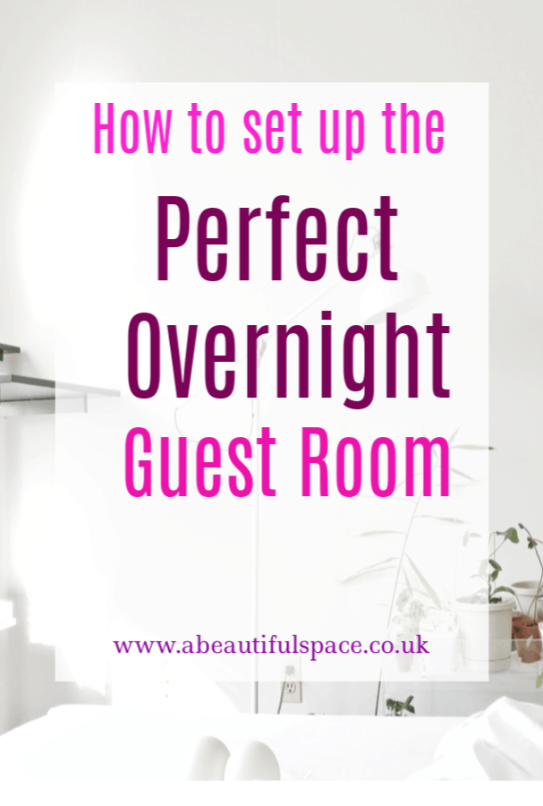 Perfect Overnight Guest Room