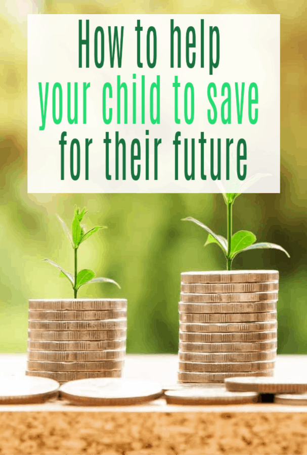 children save for their future