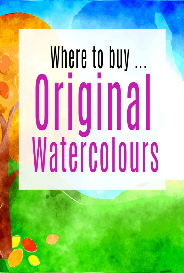 Where to Buy Original Watercolours