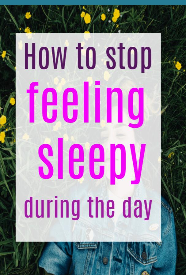 How to stop feeling sleepy during the day #sleep #sleepinghacks #sleepingtips #self-care