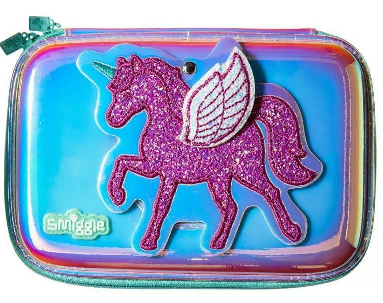 Win a Smiggle unicorn pencil case