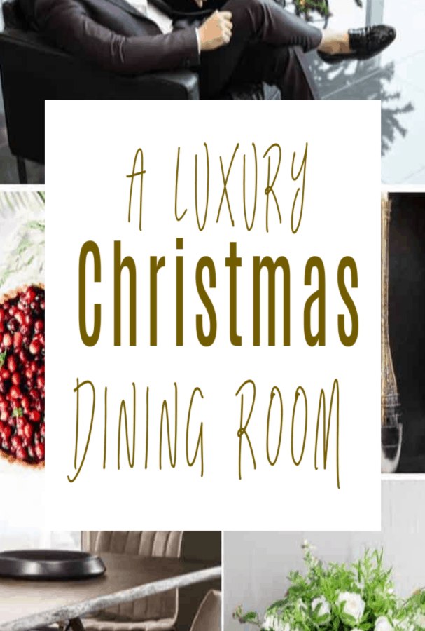 A Luxury Christmas Dining Room with Juliettes Interiors