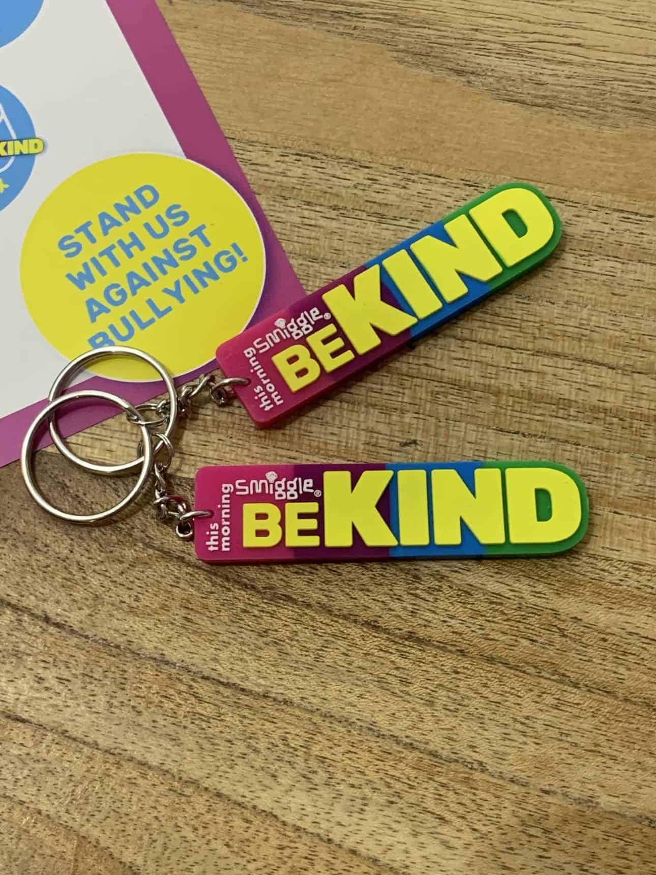 How to get a free Smiggle Be Kind Keyring, smiggle be kind