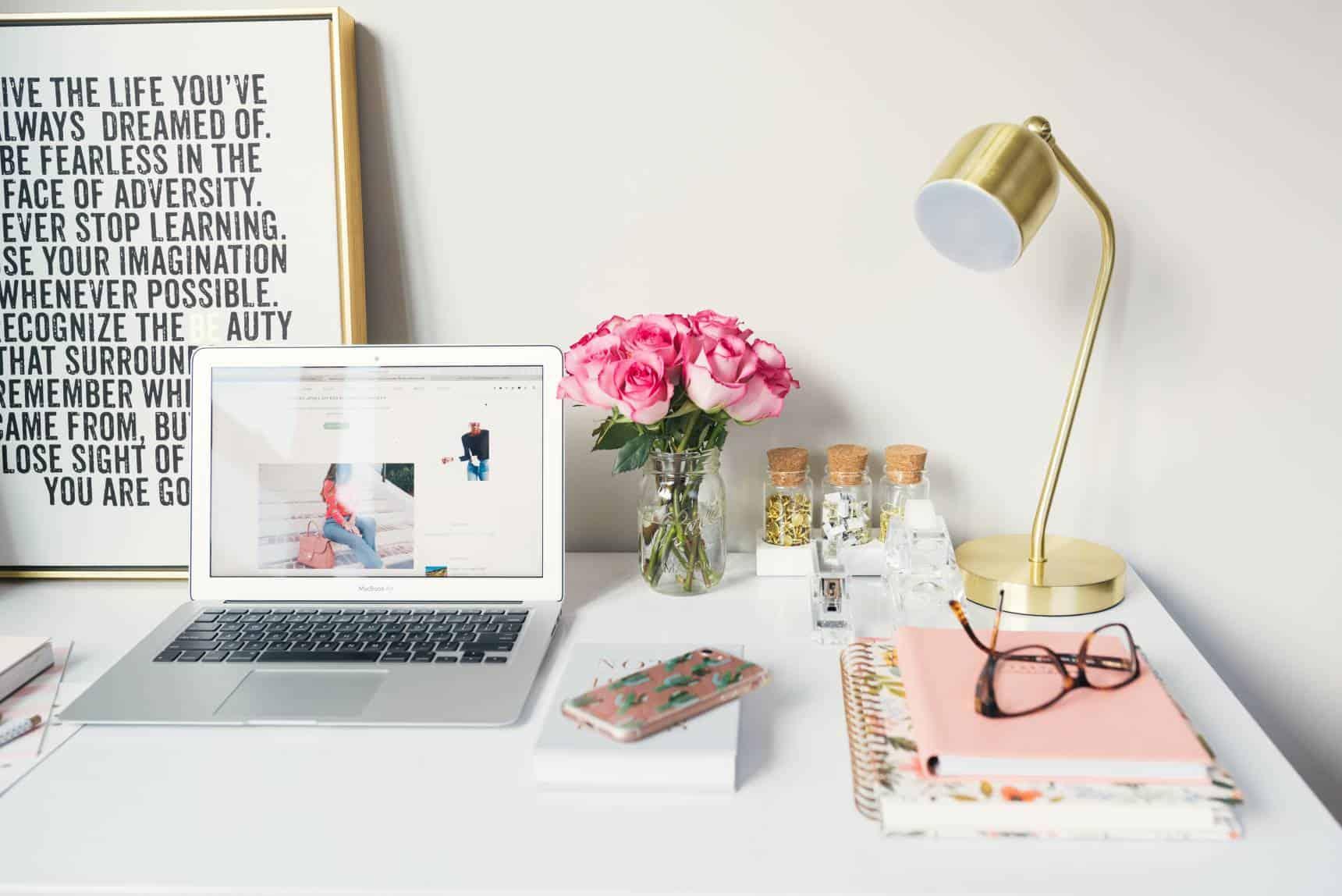 pretty desk