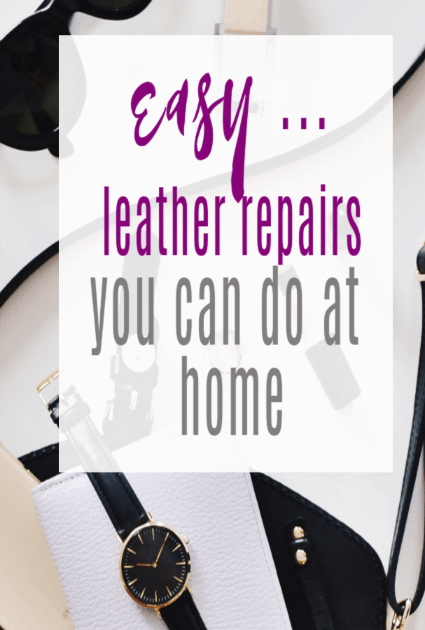 Easy Leather Repairs You Can Do at Home