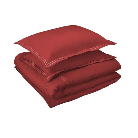 red Embroidered Duvet Covers