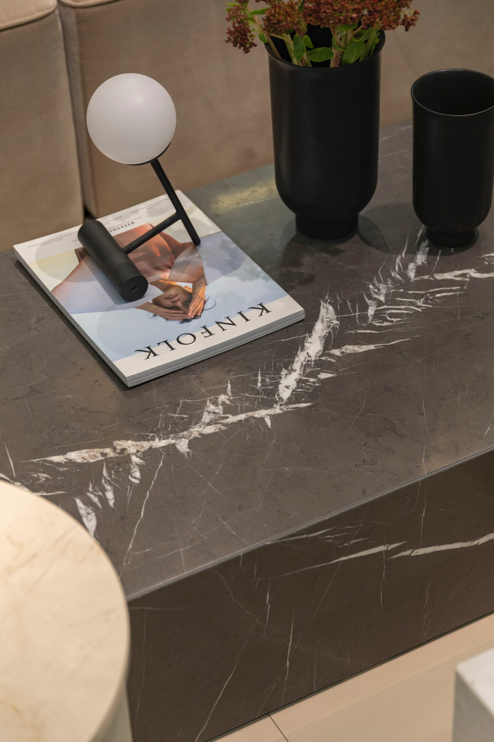 Marble design table