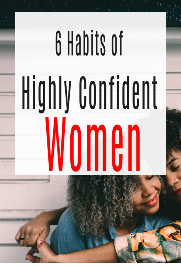 highly confident women