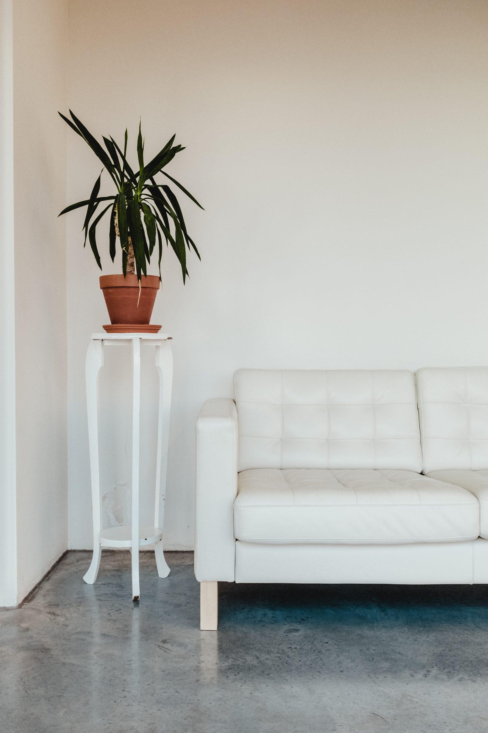 minimalist living room tips