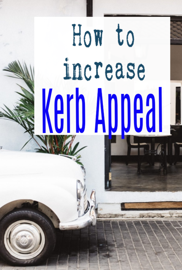 how to increase kerb appeal