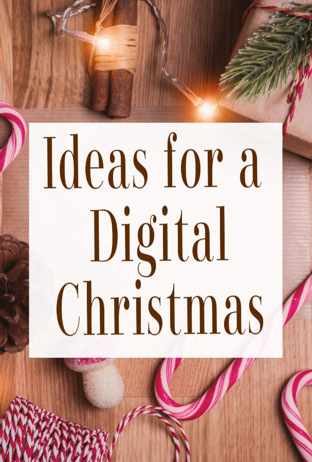 ideas for a digital Christmas