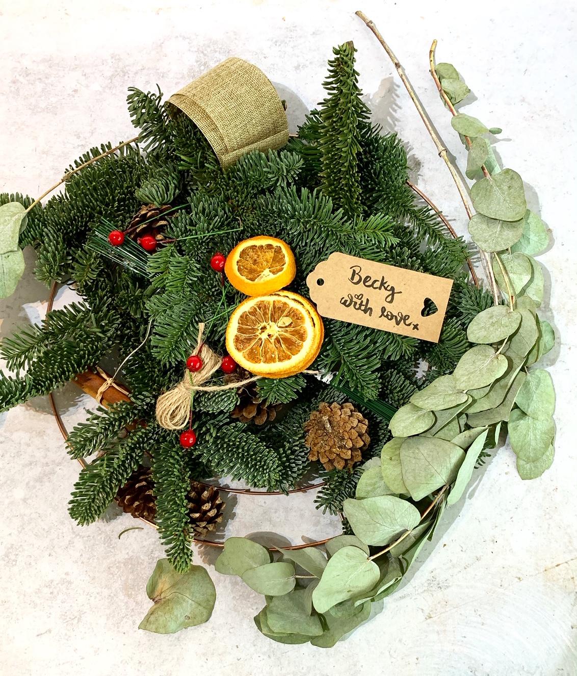Make Your Own DIY Christmas Wreath Craft Kit