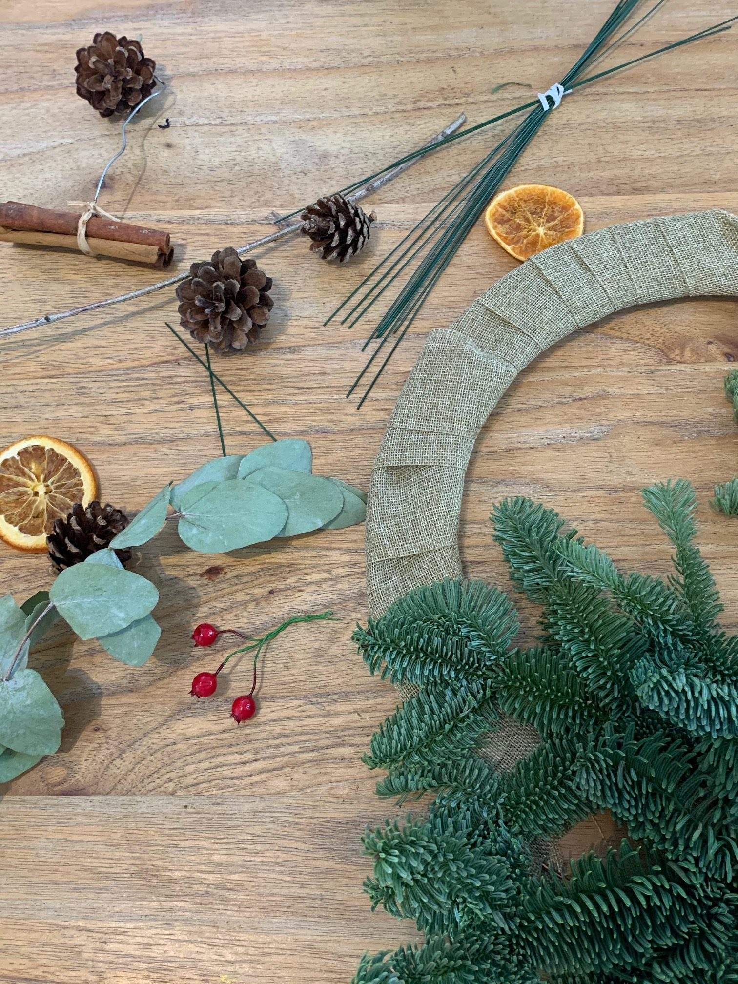 DIY Christmas Wreath Craft Kit